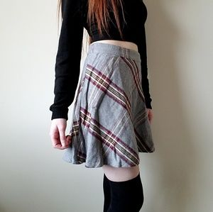 NWT Aeropostale Plaid Circle Skirt Size Small